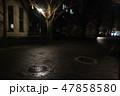 霧 真夜中 建物 クラシック 幻想的 47858580