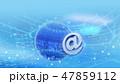 球体 ネットワーク ビッグデータのイラスト 47859112