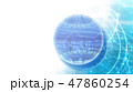 テクノロジー ハイテク ビッグデータのイラスト 47860254