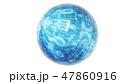 サイバー データ ハイテクのイラスト 47860916