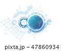 サイバー グローバル ネットワークのイラスト 47860934