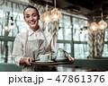 ウェイトレス ウェートレス コーヒーの写真 47861376