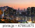 Hong Kong Island from lam tin district 47861875