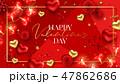 バレンタイン ランプ 灯のイラスト 47862686