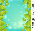 植物 エコ フレームのイラスト 47864015