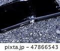 破損したスマートフォン 割れた液晶画面 SONY Xperia 47866543
