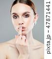 ジュエリー 宝石類 女性の写真 47871441