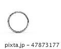 水に濡れた指輪の3DCG 47873177