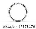 水に濡れた指輪の3DCG 47873179