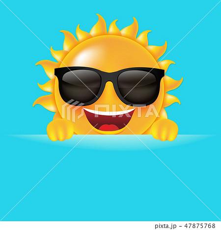 Yellow Sun Banner 47875768