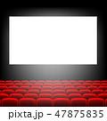 Cinema Screen With Screen 47875835