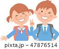 小学生 入学式 47876514