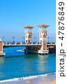 エジプト ブリッジ 橋の写真 47876849
