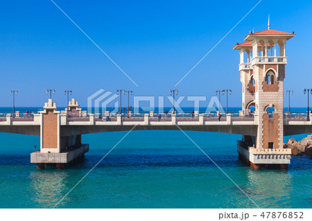 Stanley Bridge Alexandria, Egypt 47876852