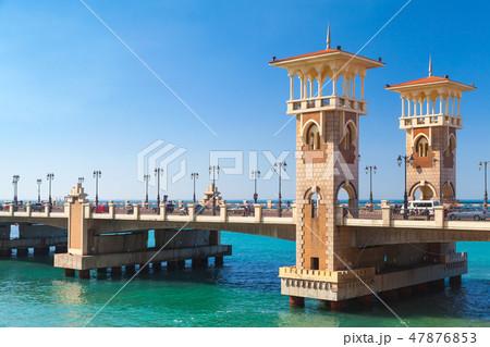 Stanley Bridge is 400 meter-long monument 47876853