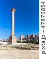 支える 柱 アレキサンドリアの写真 47876854