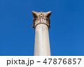 支える 柱 アレキサンドリアの写真 47876857