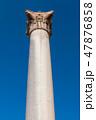 支える 柱 アレキサンドリアの写真 47876858