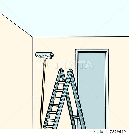 ladder repair paint roller 47879649