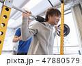 ジム 筋トレ トレーニング イメージ 47880579