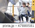 ジム 筋トレ トレーニング イメージ 47880581