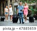 旅行 カップル 夫婦の写真 47885659