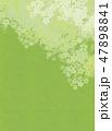 桜 和紙風 模様のイラスト 47898841