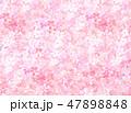 桜 和紙風 模様のイラスト 47898848