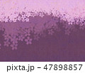 桜 和紙風 模様のイラスト 47898857