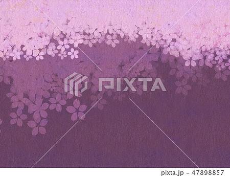 桜 和紙風 テクスチャー 47898857