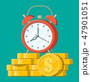 お金 通貨 金のイラスト 47901051