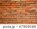 Red brick wall texture background. Old brick wall. 47909586