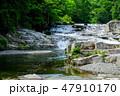 川 滝 風景の写真 47910170