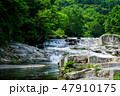 大川七滝 大川 渓流の写真 47910175