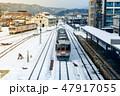 電車 列車 ゆきの写真 47917055