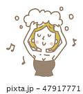 女性【線画・シリーズ】 47917771