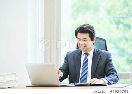 ビジネスマン 47920791