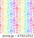 シームレス アイコン イコンのイラスト 47921052