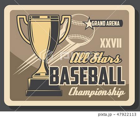 Baseball sport league cup championship 47922113