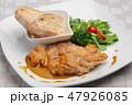 チキンコンフィ フランス料理 47926085