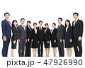 ビジネスマン ビジネスウーマン 会社員の写真 47926990