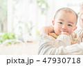 赤ちゃんとママ 47930718