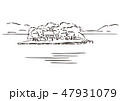 島根県松江市・出雲市/宍道湖 47931079