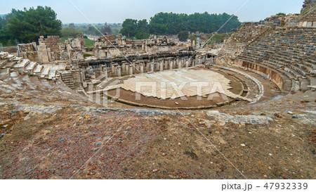 Amphitheatre of Ephesus in Selcuk, Izmir Turkey 47932339