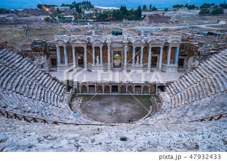 The Theatre of Hierapolis in Denizli, Turkey 47932433