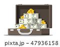 お金 通貨 金のイラスト 47936158