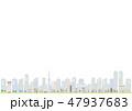 街 都市 街並みのイラスト 47937683