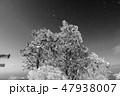 モノクロ風景写真 47938007