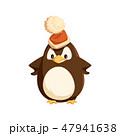 ぺんぎん ペンギン 鳥のイラスト 47941638