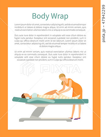 Body Wrap Done by Experienced Specialist in Spa 47942299